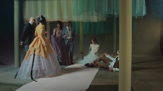 "Реклама для Пушкинского Музея  (Интерпретация картины ""Завтрак на траве""Клода  Моне)"