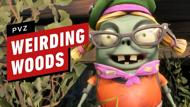 Plants vs. Zombies Battle for Neighborville 11 Minutes of Weirding Woods Gameplay