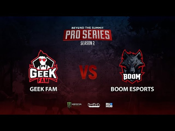 Geek Fam vs BOOM Esports BTS Pro Series Season 2 SEA bo2 game 2 Mortalles Adekvat
