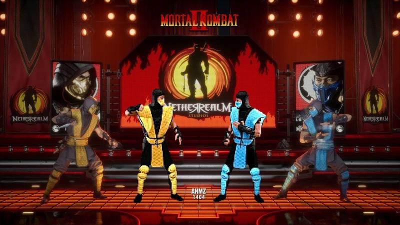 Mortal Kombat 11 vs MK2/MK3 DIRECT COMPARISON