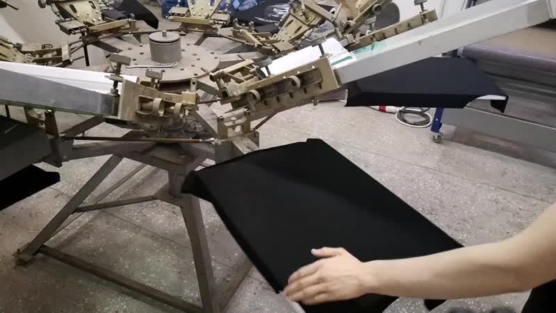 Шелкография в Москве. Оптовый пошив одежды. Печать на футболках.