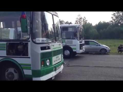 Гонки на автобусах ПАЗ