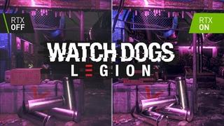 Watch Dogs: Legion - RTX ON / OFF | Ray Tracing Graphics Comparison ( RTX 2060 AMD Ryzen 7 4800H )