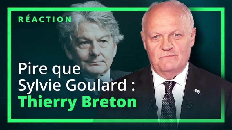 Pire que Sylvie Goulard : Thierry Breton ! François Asselineau