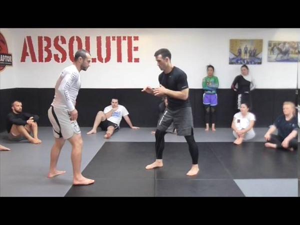 No Gi Double leg takedown (Lachlan Giles)