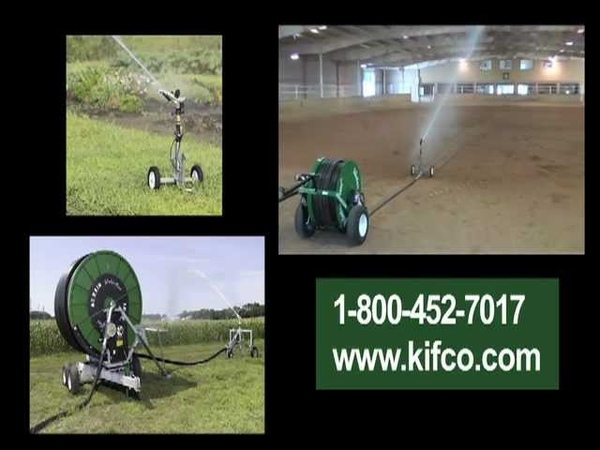 Kifco Water Reels Portable Irrigation Systems