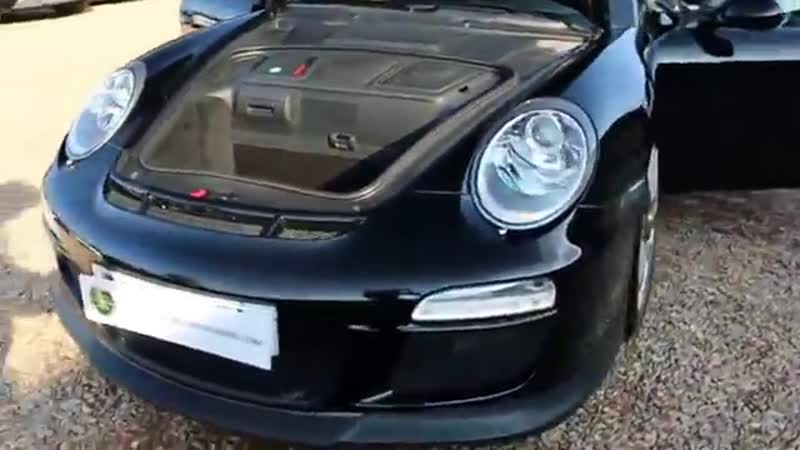 Porsche 997 GT3 3.8 LHD 6 Speed Manual in Basalt Black with Black Leather London