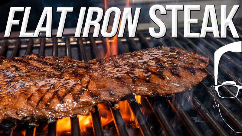 THE BEST FLAT IRON STEAK AND MARINADE SAM THE COOKING GUY 4K