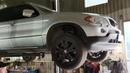 Передний кардан на БМВ Х5 Е53 рест. (выработка шлицов - диагностика на подъемнике, ремонт)