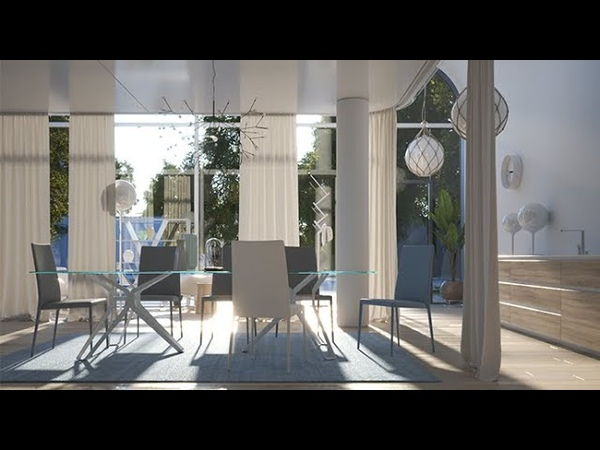 V-Ray Next for 3ds Max – How to light an interior day scene