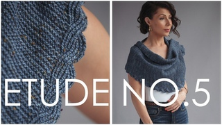 How to Knit the Easy Twisted Rib Cable! And Make This GORGEOUS Shawl!
