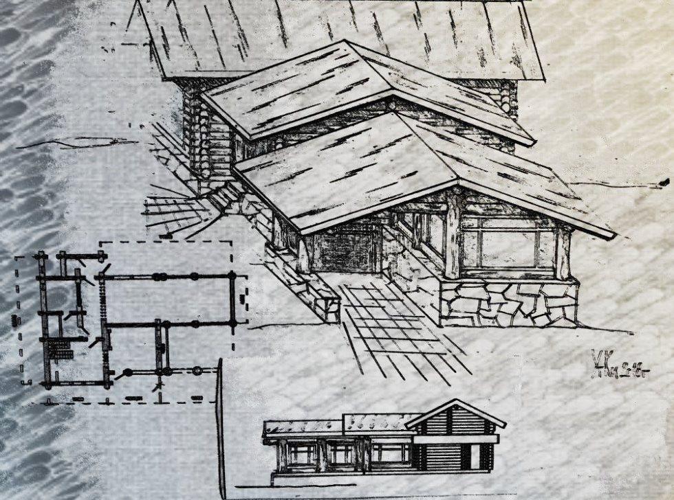 Конструкция дома влияет на степень защиты от осадков