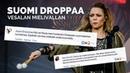 Voiko poplaulaja määrittää, kuka saa olla kansanedustaja? Paula Vesalalle sataa palautetta.