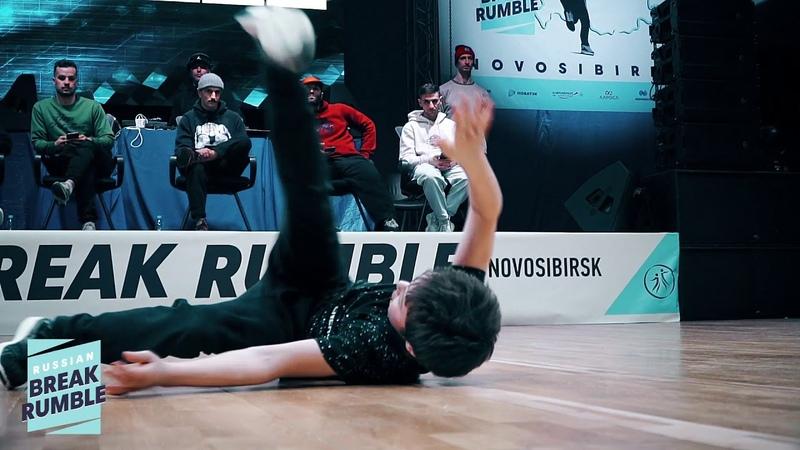 Lev vs Niki Rock Semifinal Юноши 11 13 лет Russian Break Rumble Novosibirsk 2020