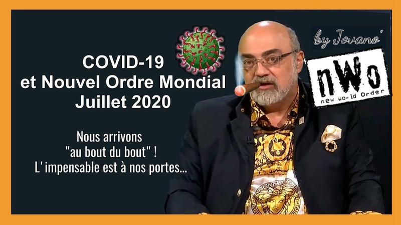 Pierre JOVANOVIC/ Covid, Nouvel Ordre Mondial et faillite économique en Europe (Hd 1080) Remix