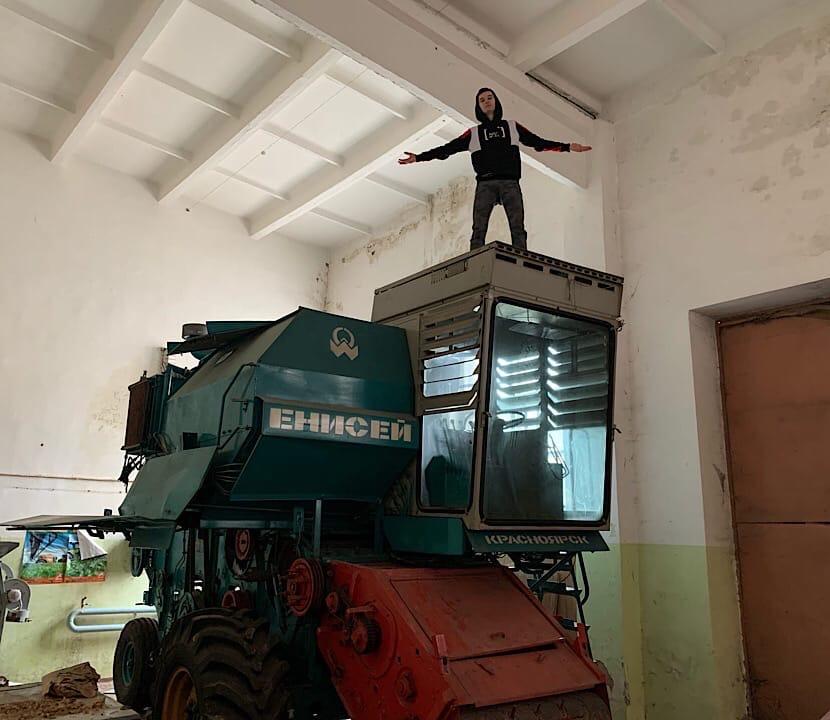 Заброшенный аграрный университет животноводства