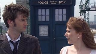 Разговор Доктора и Донны на крыше   Сбежавшая Невеста   Доктор Кто