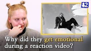 Why are people getting emotional during a reaction video?