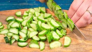 Когда салаты вкуснее макарон! 3 СУПЕР рецепта из простых овощей!