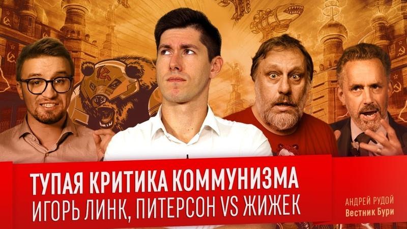 ТУПАЯ КРИТИКА КОММУНИЗМА: Игорь Линк Питерсон VS Жижек