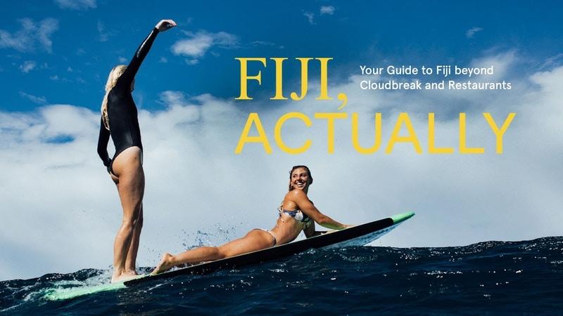 Sage Erickson Macy Callaghan Laura Enever and Hannah Bennett explore Fiji's overlooked coastline