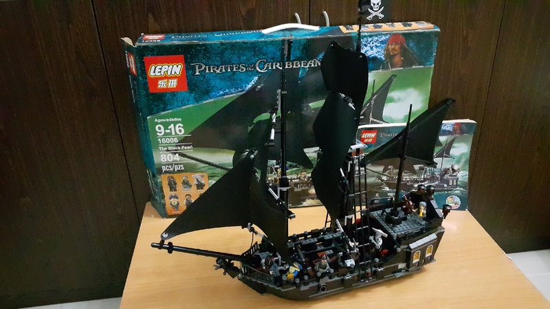 LEGO 4184 LEPIN 16006 THE BLACK PEARL