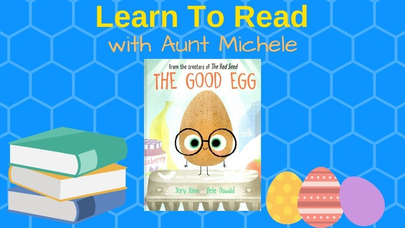 The Good Egg by Jory John Pete Oswald | Read Along | Aunt Michele's Storytime