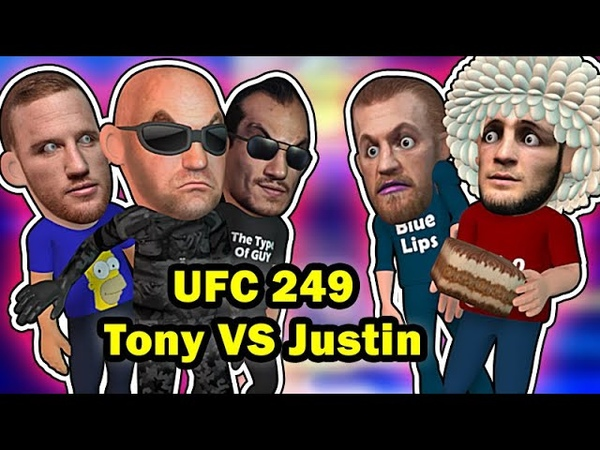 Tony Ferguson VS Justin Replaces Khabib at UFC 249