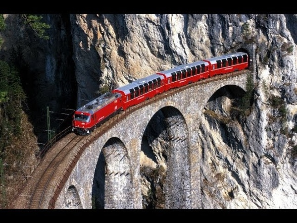 Bernina Express Scenic Train Ride Switzerland: HappyRail