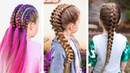4 Cute 5-Minute Hairstyles For Little Girls ❀ Trendy Hairstyles For Kids | TOP Hairstyle