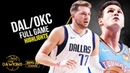 Dallas Mavericks vs OKC Thunder Full Game Highlights | October 14, 2019 | FreeDawkins