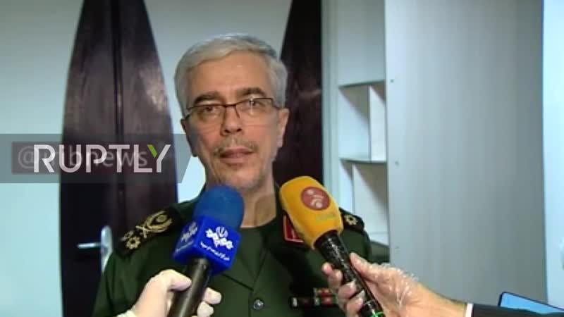 США столкнутся с нашей самой яростной реакцией если они будут иметь недоброжелательность против Ирана главком армией