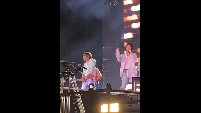 JK BWL 2019 10 11 BTS WORLD TOUR 'Love Yourself Speak Yourself' in Riyadh at King Fahd International Stadium