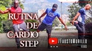 RUTINA DE CARDIO STEP PARA QUEMAR GRASA