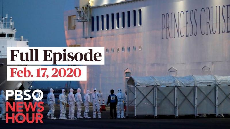 PBS NewsHour live episode, Feb 17, 2020
