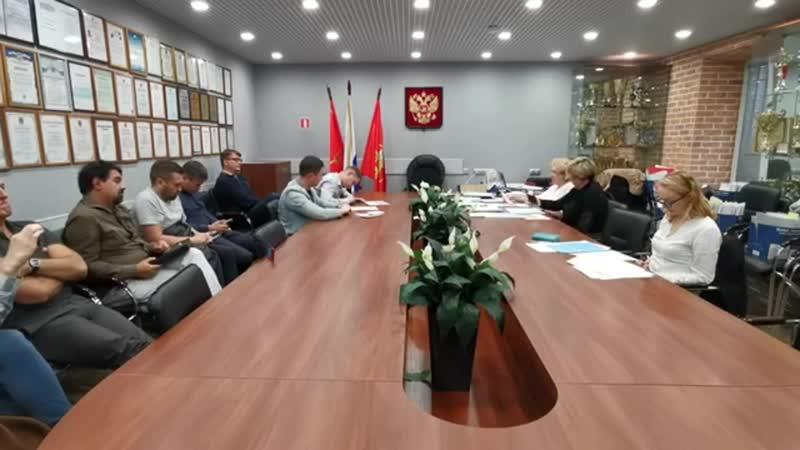 Заседание ИКМО Владимирский округ 10.07.19 - отказ Язову
