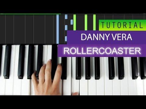 Danny Vera - Rollercoaster - Piano Tutorial MIDI Download