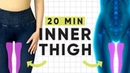 20 Minute Inner Thigh Isolate Workout No equipment at home Pilates exercises