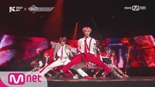 [KCON NY] NCT 127 - INTRO+Cherry Bomb ㅣ KCON 2017 NY x M COUNTDOWN 170706