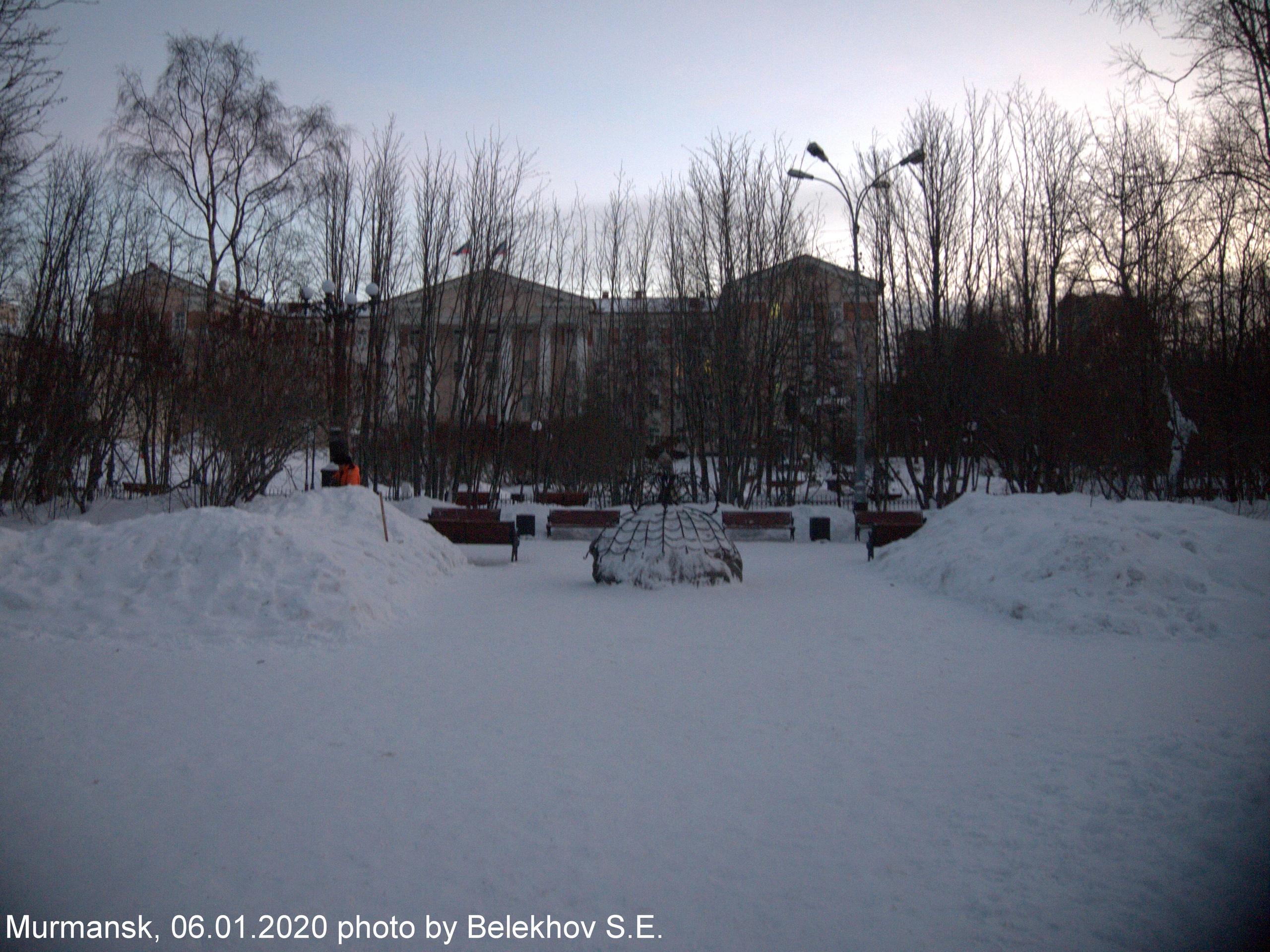 Мурманск, зима