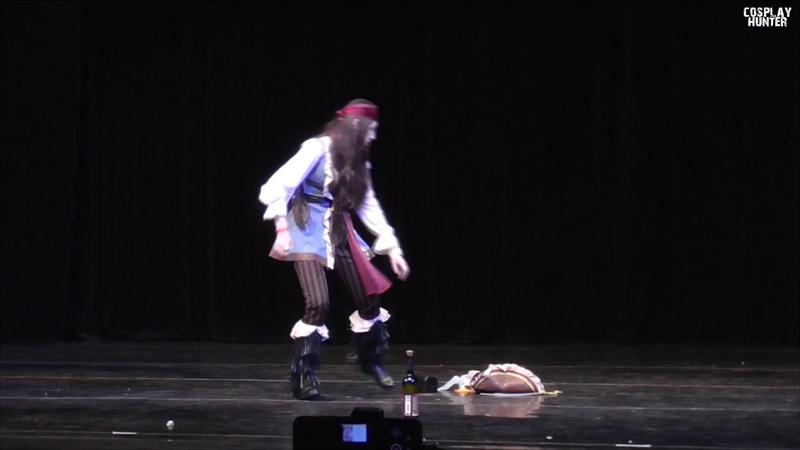 Пираты Карибского Моря (fem!Капитан Джек Воробей) - Blue sword girl