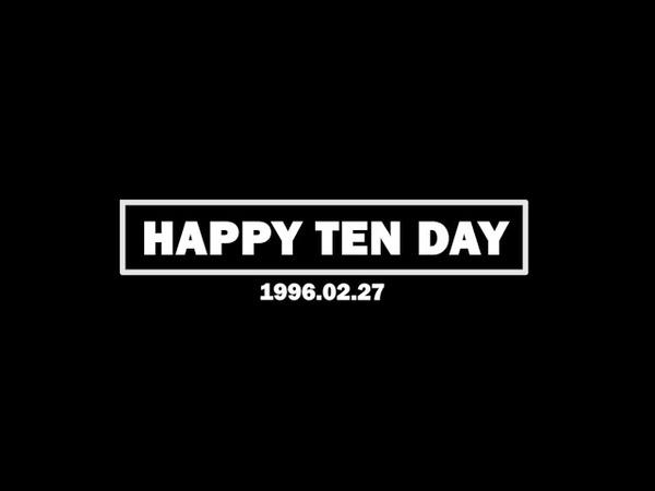웨이션브이 텐 TEN 'HAPPY BIRTHDAY TEN OF WayV SuperM NCT' FEB 27 HAPPYTENDAY NewsenTV
