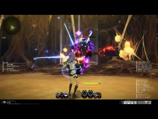 Blue protocol cat: геймплей за лучника