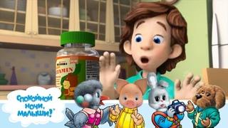 СПОКОЙНОЙ НОЧИ, МАЛЫШИ! -  Письмо от Снежной Королевы - Развивающие мультфильмы для детей - Фиксики