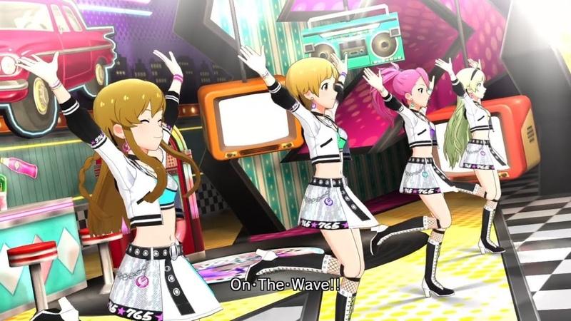 「アイドルマスター ミリオンライブ! シアターデイズ」ゲーム内楽曲『絶対的Performer』MV