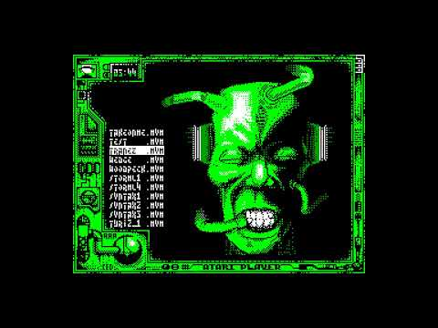 Atari Player Disk 8 (musicdisk) - AAABand Group [zx spectrum AY Music Demo]