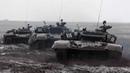 Стрельбы танкистов в Воронежской области в рамках проверки за зимний период обучения