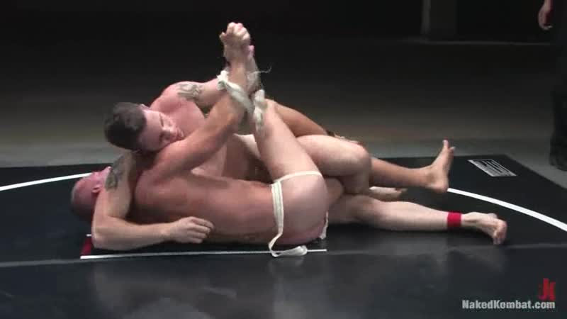 480 Naked gay combat fighters ( Patrick Rouge vs Wolf Hudson The Oil Match) gay porn (