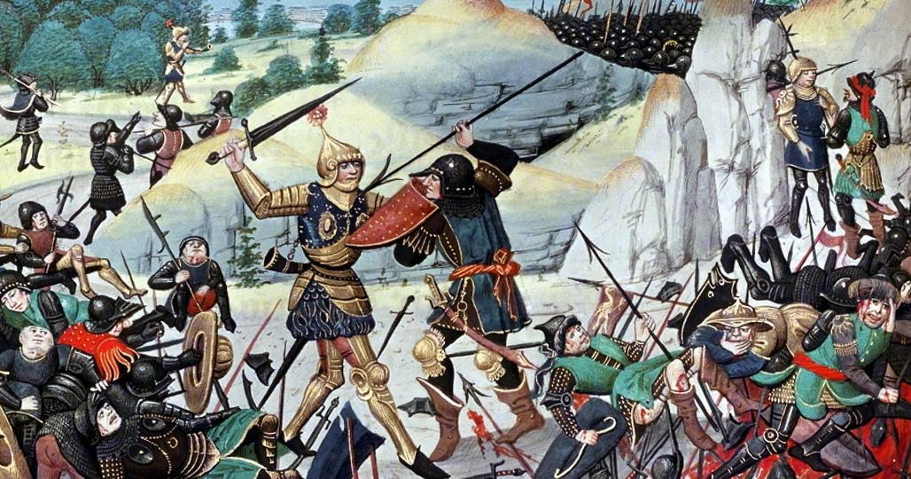 Бой рыцарей