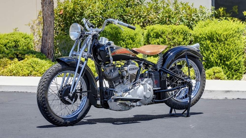 Crocker Small Tank V-Twin - самый быстрый американский серийный мотоцикл своего времени